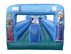 Inflatable bungee run from Ding's Entertainment Ltd