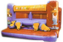 Bouncy boxing hire from Ding's Entertainment Ltd