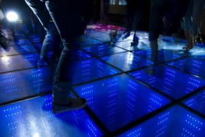 Hire a dance floor from Ding's Entertainment Ltd