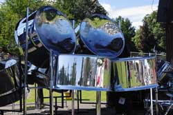 Hire a steel band from Ding's Entertainment