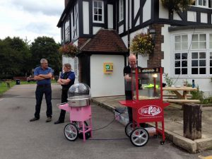 Candy Floss and Popcorn at Baginton Oak