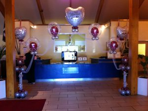 Floating Wedding Balloon Arch