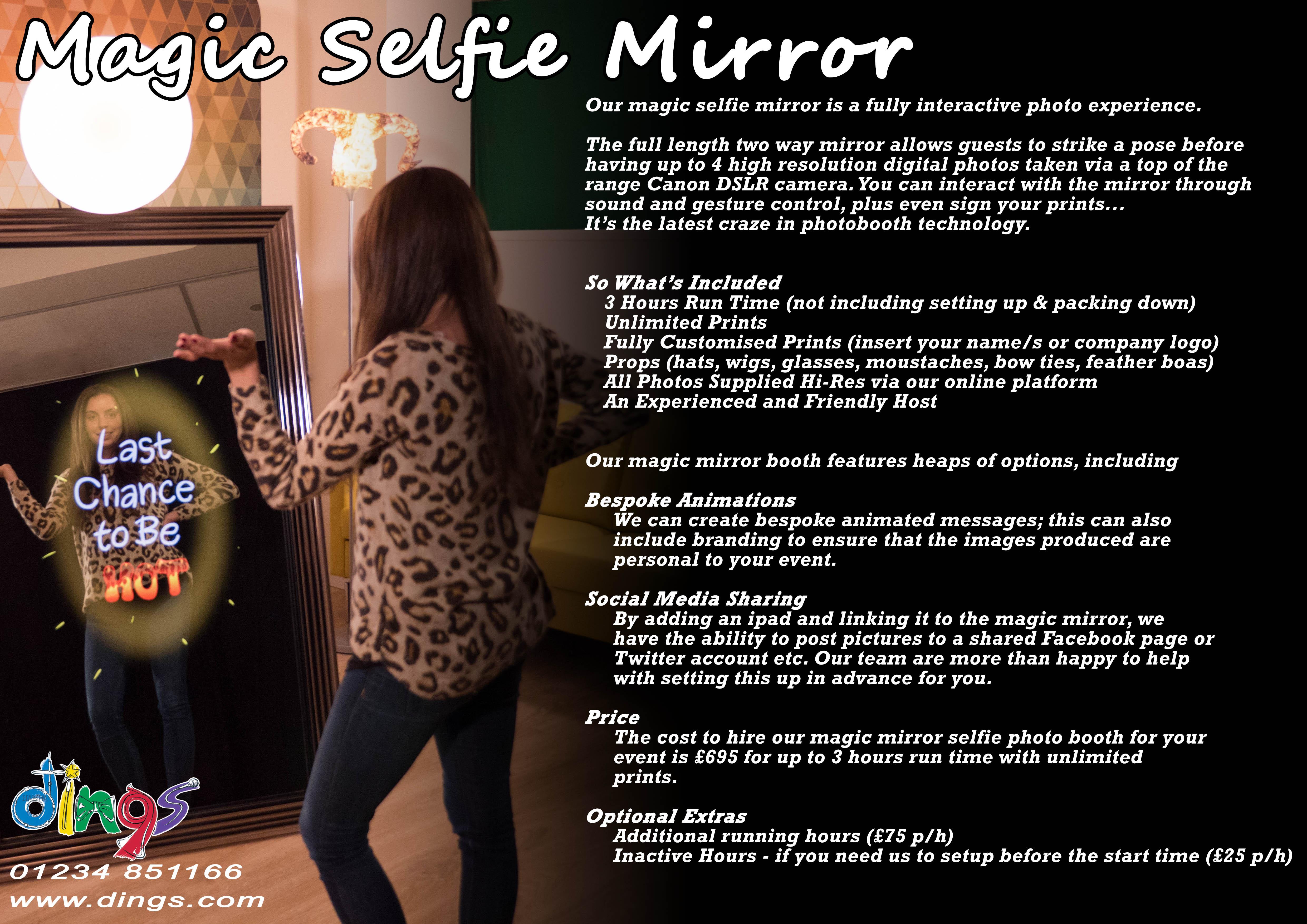 Selfie Mirror Dings Lo Res Ding S Entertainment